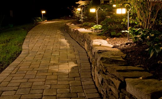 Outdoor Lighting Landscape u0026 Holiday & Chesapeake Landscape u0026 Design | Commercial u0026 Residential Landscaping ...
